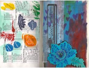 color meditation sketch