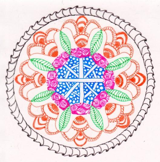 Floral Zendala