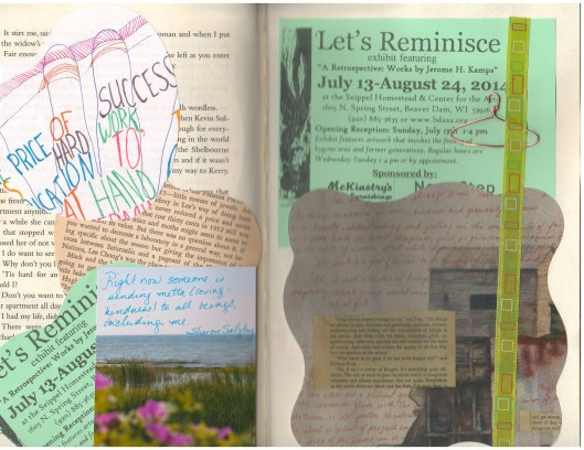 journal page matter of hunger
