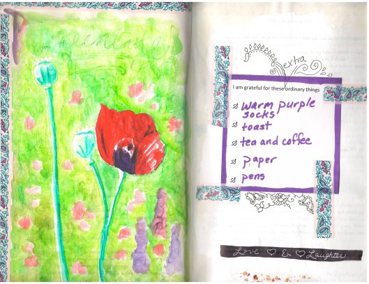 poppy sketch and extra ordinary things