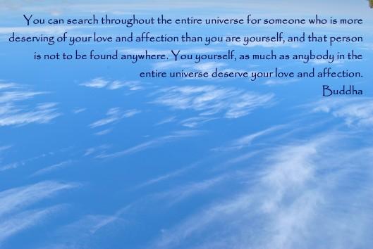 buddha quote sky