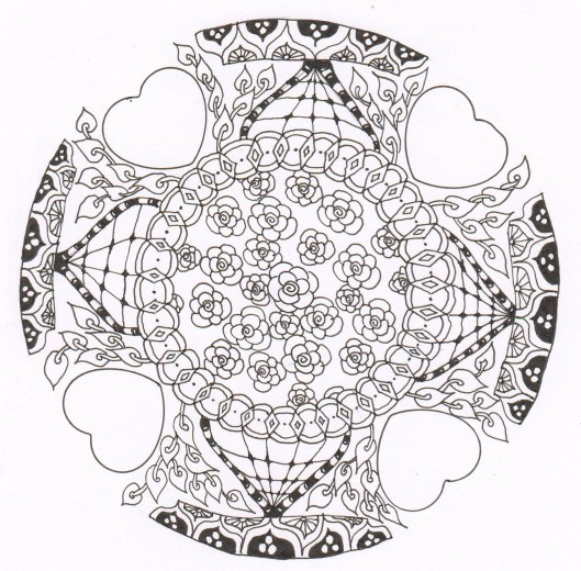 mandala valentangle