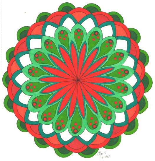 red green complements