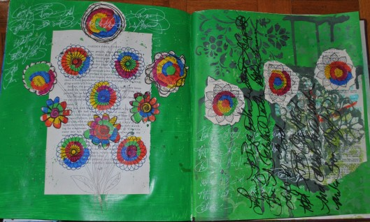 garden of circles 001