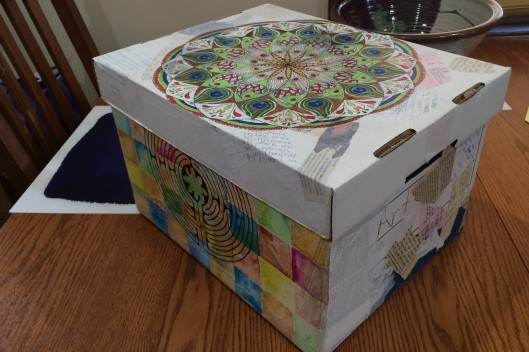 10 of 100 decorated box