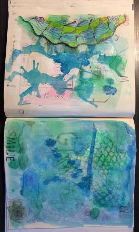 Community Art Project mandala process