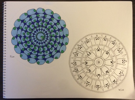 mandalas 5 and 6