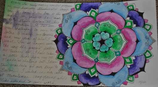 gratitude mandalas and color mixing 001