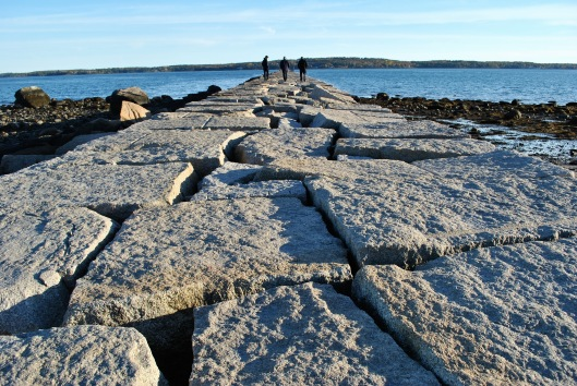 rockland-breakwater-lighthouse-three-men-in-black