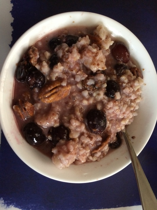 cherry-and-rice-porrage