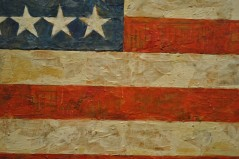 jasper-johns-flag-detail
