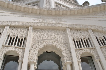 bahai house of worship detail