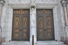 front center doors