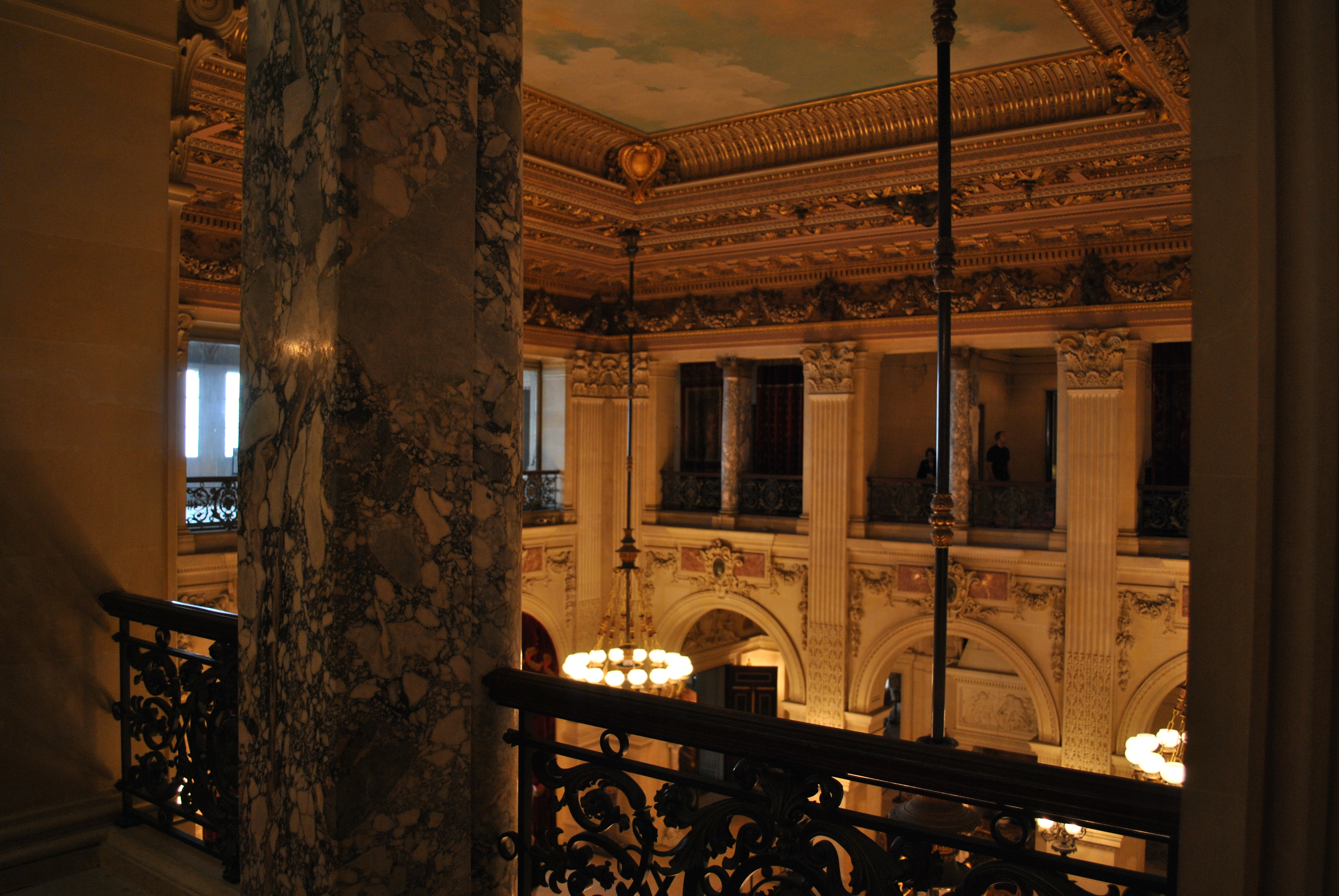 Breakers great hall from second floor | lunanista
