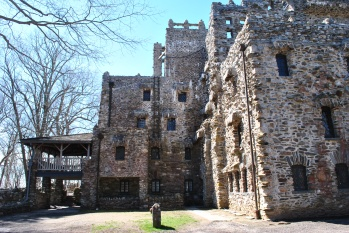 Gillette castle ladder view