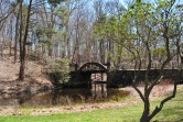 Gillette castle pond bridge