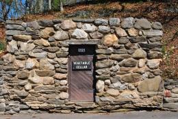 Gillette castle vegetable cellar door