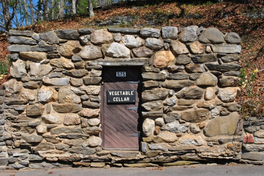 Gillette castle vegetable cellar door