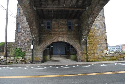 Narragansett tower door