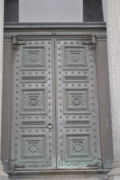 Providence Biltmore CZT 27 city views old stone bank door close up