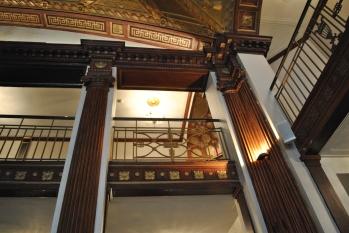 Providence Biltmore CZT 27 mezzanine architectural details