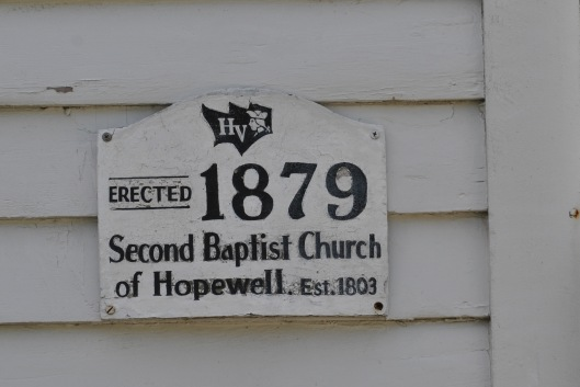 second baptist church of hopewell