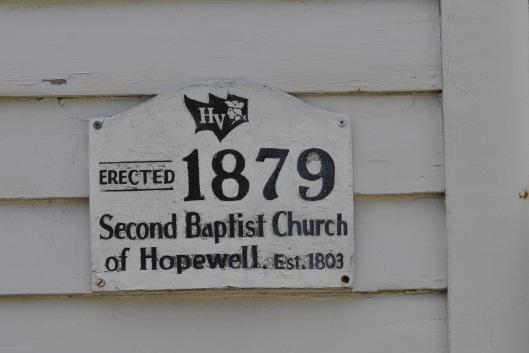 second baptist church of hopewell