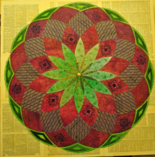 JeanetteClawson_DrawtheCircleWideTransparencies_Mixed media on gessoboard_30x30